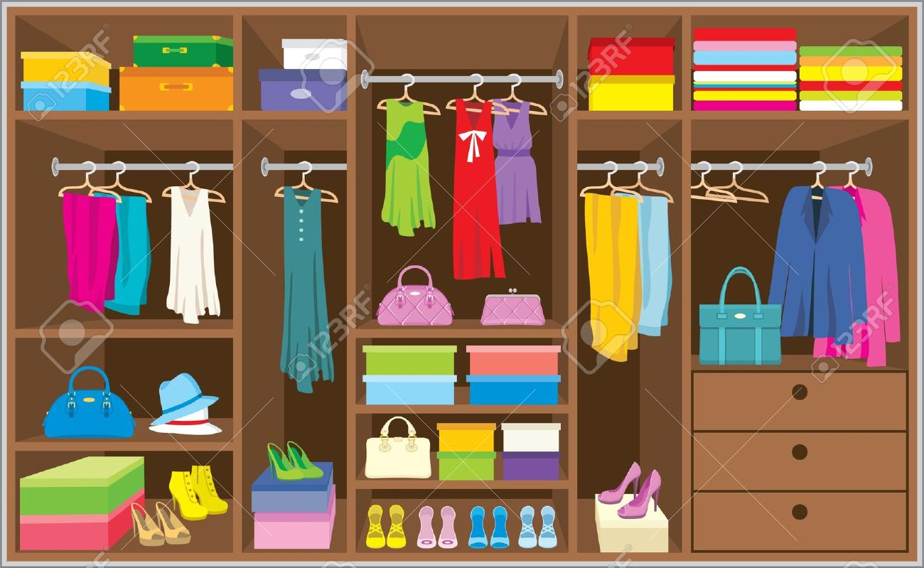 vector free stock  clipartlook. Closet clipart