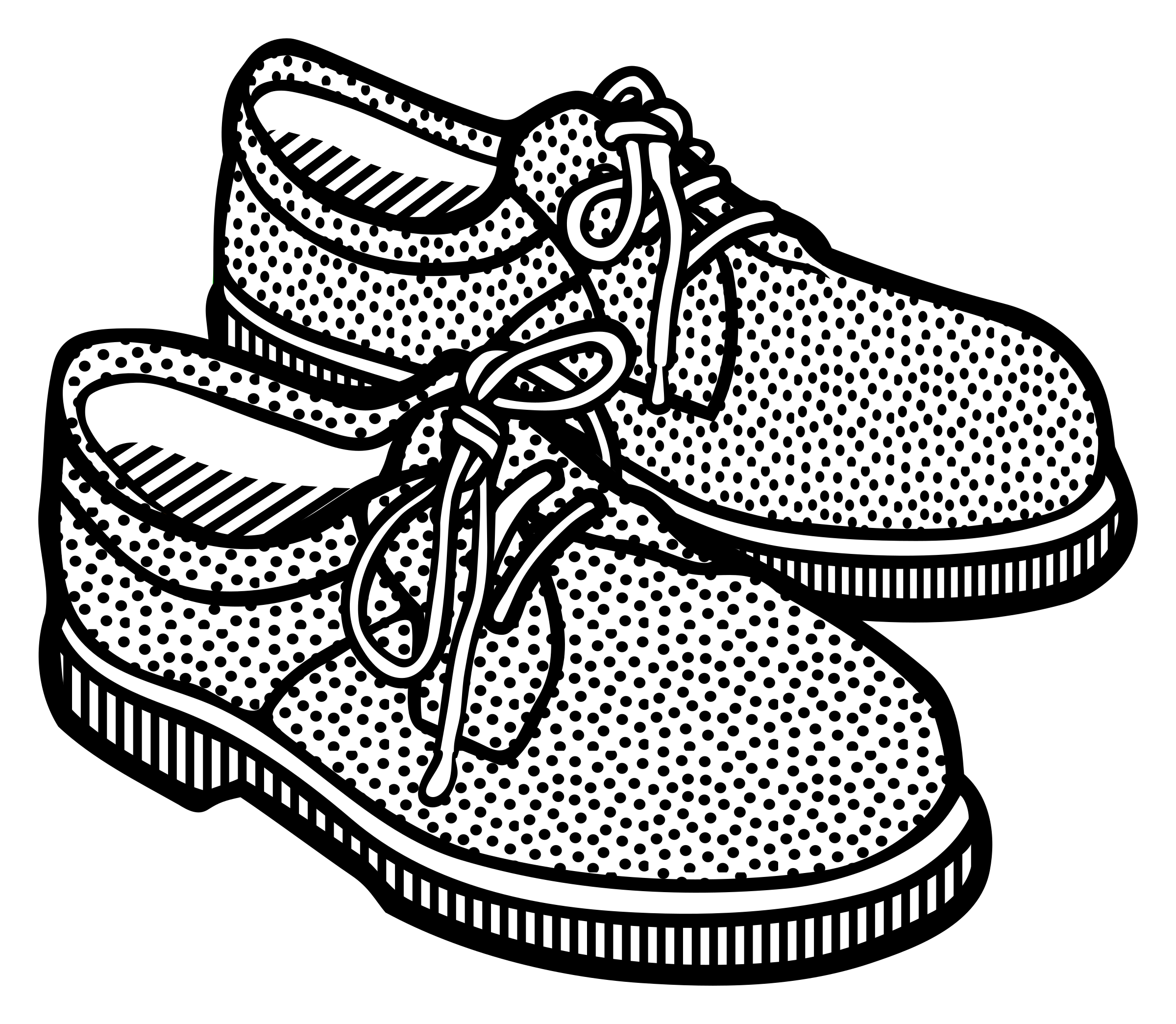 clip art transparent Running shoes free on. Closet clipart