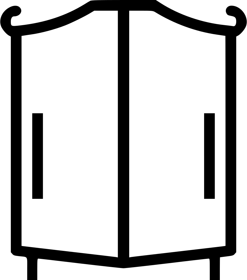 png free stock Wardrobe cabinet clothes furniture. Closet clipart basic need clothing.