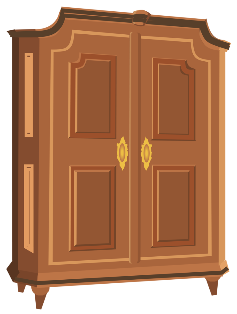 clip freeuse stock Armoire png pinterest art. Pantry clipart closed closet