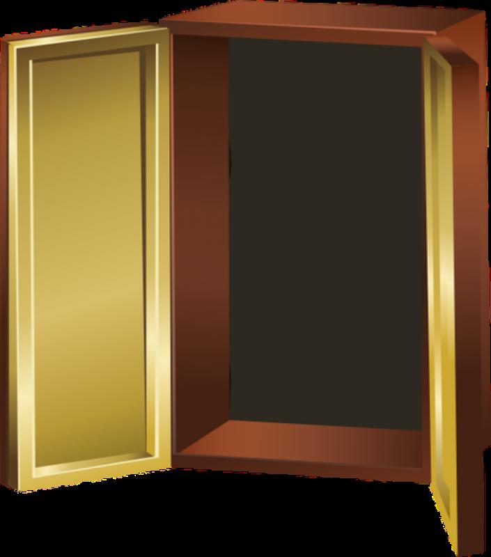transparent Closet clipart empty closet.  door woman trying.