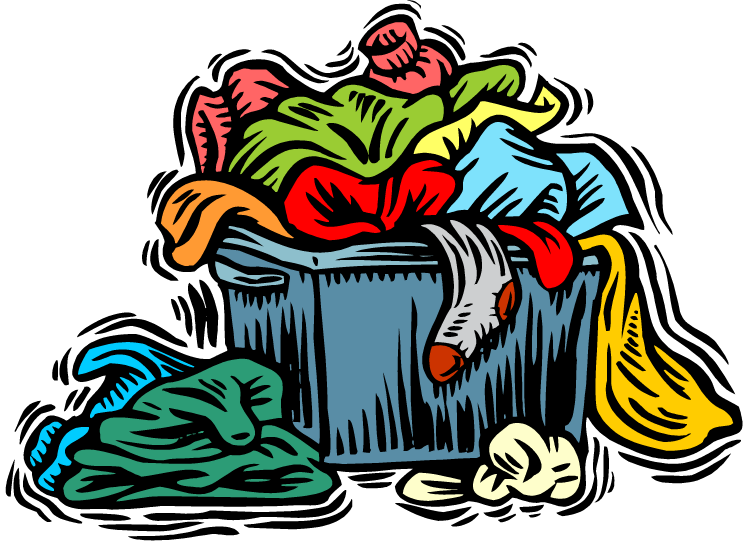 banner library Laundry clipart soiled clothes.  collection of dirty
