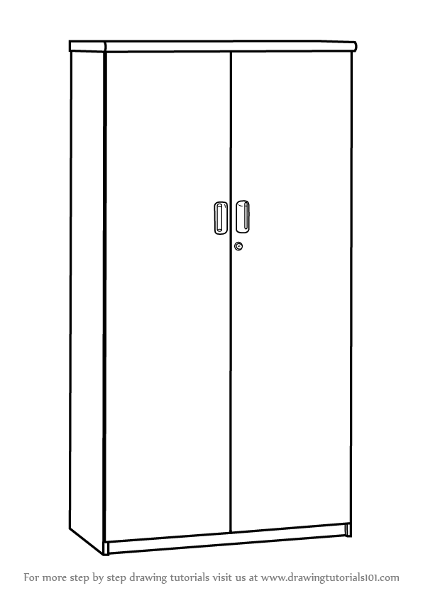 clipart royalty free library Closet drawing easy. Learn how to draw
