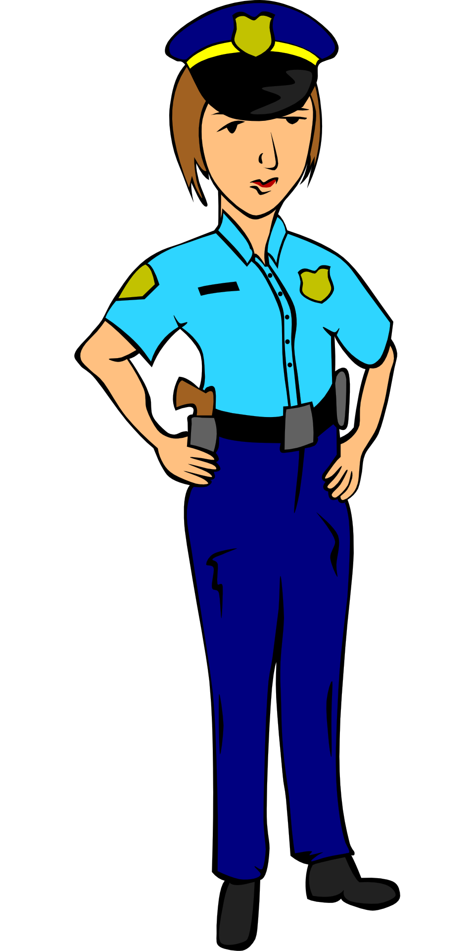 graphic royalty free Police Officer Drawing at GetDrawings