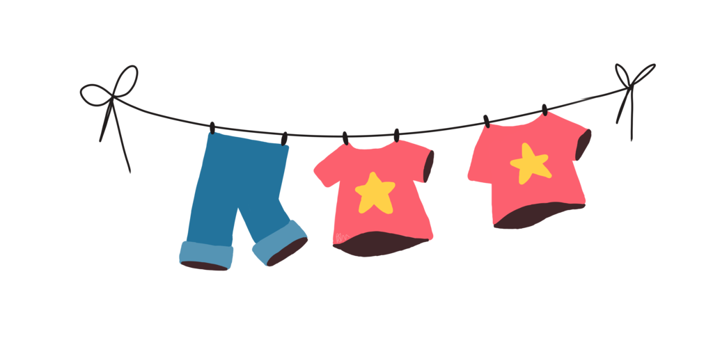 free library Clothesline Silhouette at GetDrawings