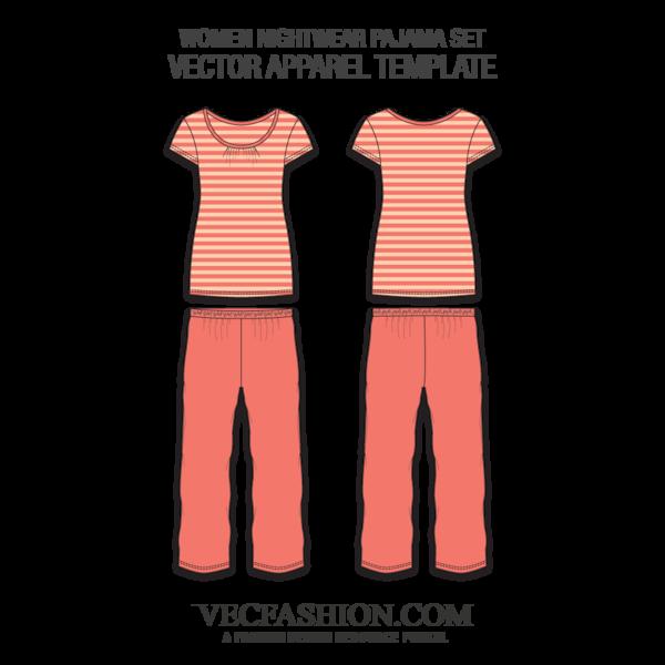 banner transparent Nightwear Pajama Set