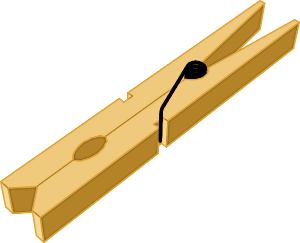 clip library download  clip art clipartlook. Clothespin clipart.