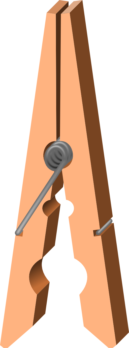 vector free download Clothespin clipart boarder. Clothes peg open i.