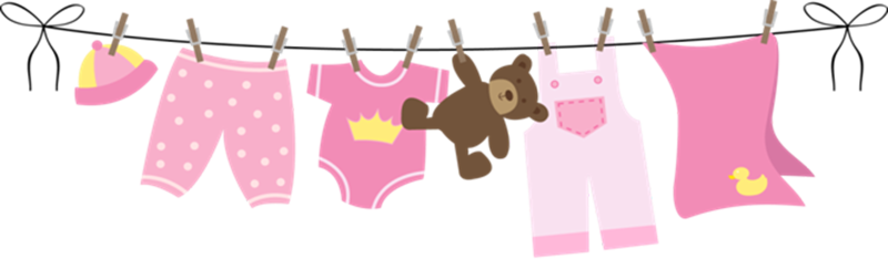 svg freeuse stock Clothespin clipart clothesline. Baby group imagenes para.