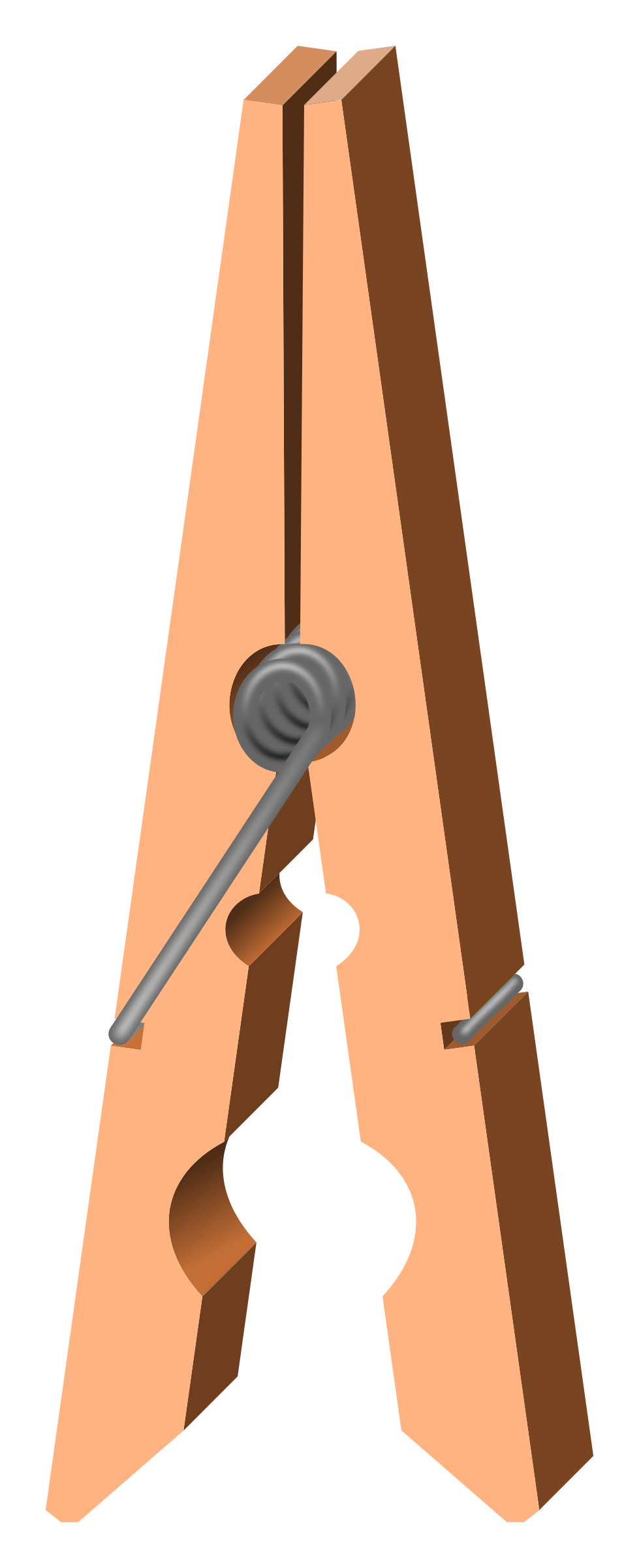 png freeuse download Clothespin clipart. Clothes peg open big.