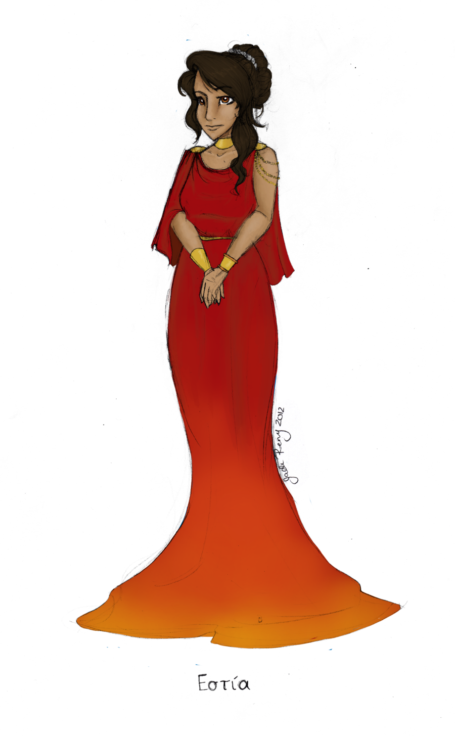 clip library download Gown clipart beautiful dress. Goddess roman clothes free
