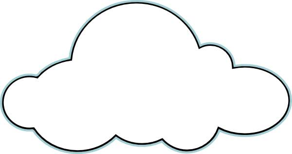 svg stock Cloud clipart. Panda free images