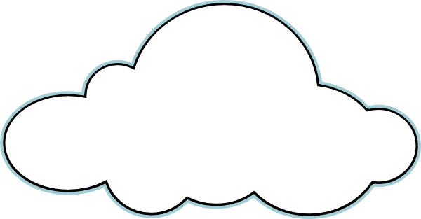 freeuse download Pin by on outline. Cloud clipart