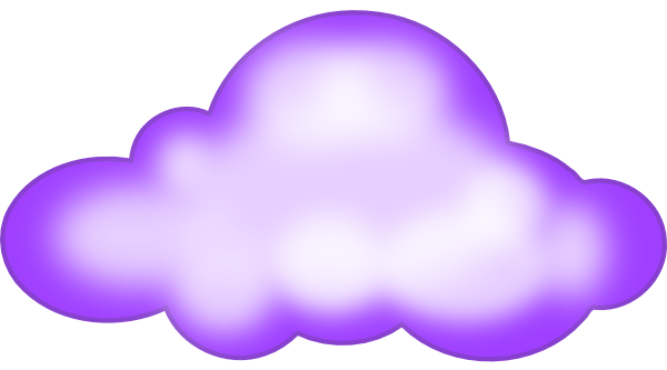 svg black and white stock Cloud clipart. Clip art at clker