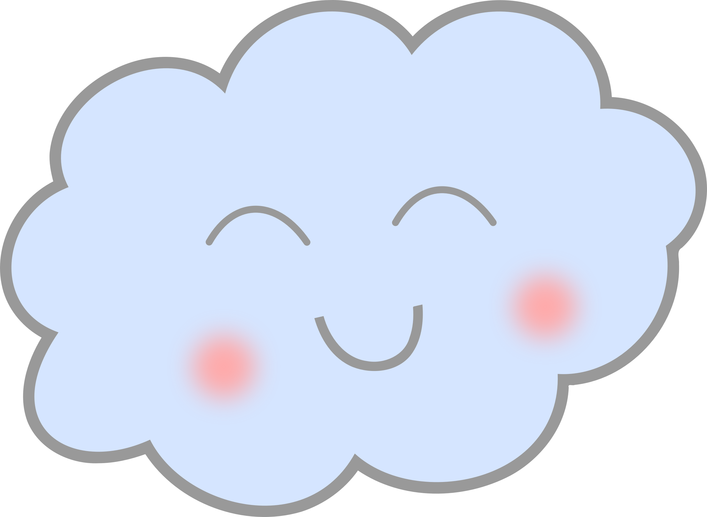 vector royalty free library Happy. Cloud clipart