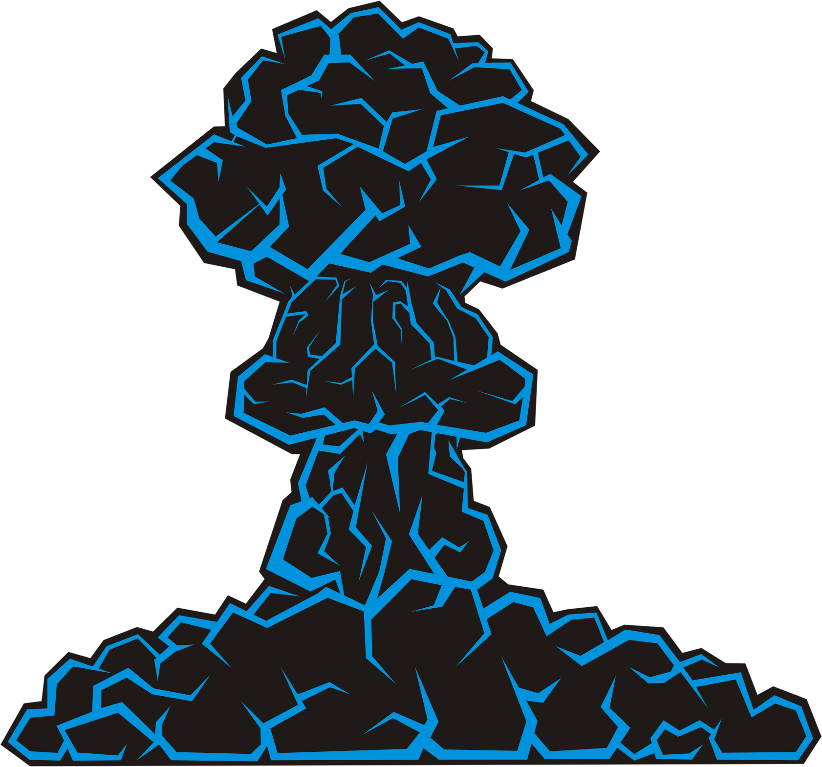 vector freeuse download Mushroom big image png. Cloud clipart atomic bomb.