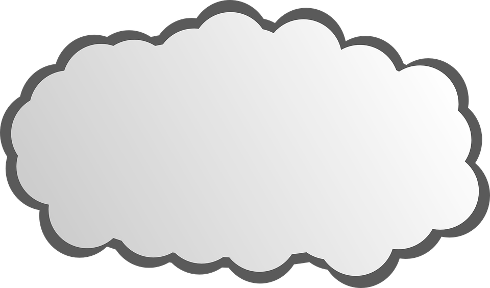 graphic royalty free stock Cloud clipart black and white. Clouds internet free collection