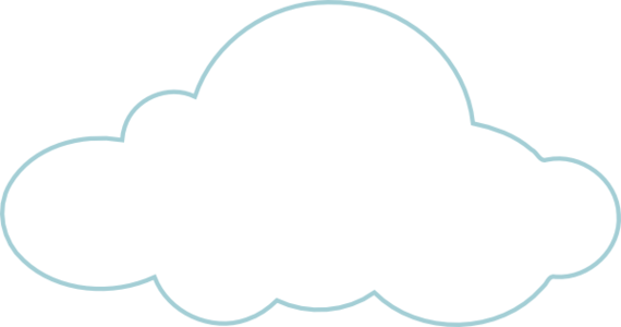 picture library download Cloud clipart clear background. Clouds pencil and in.