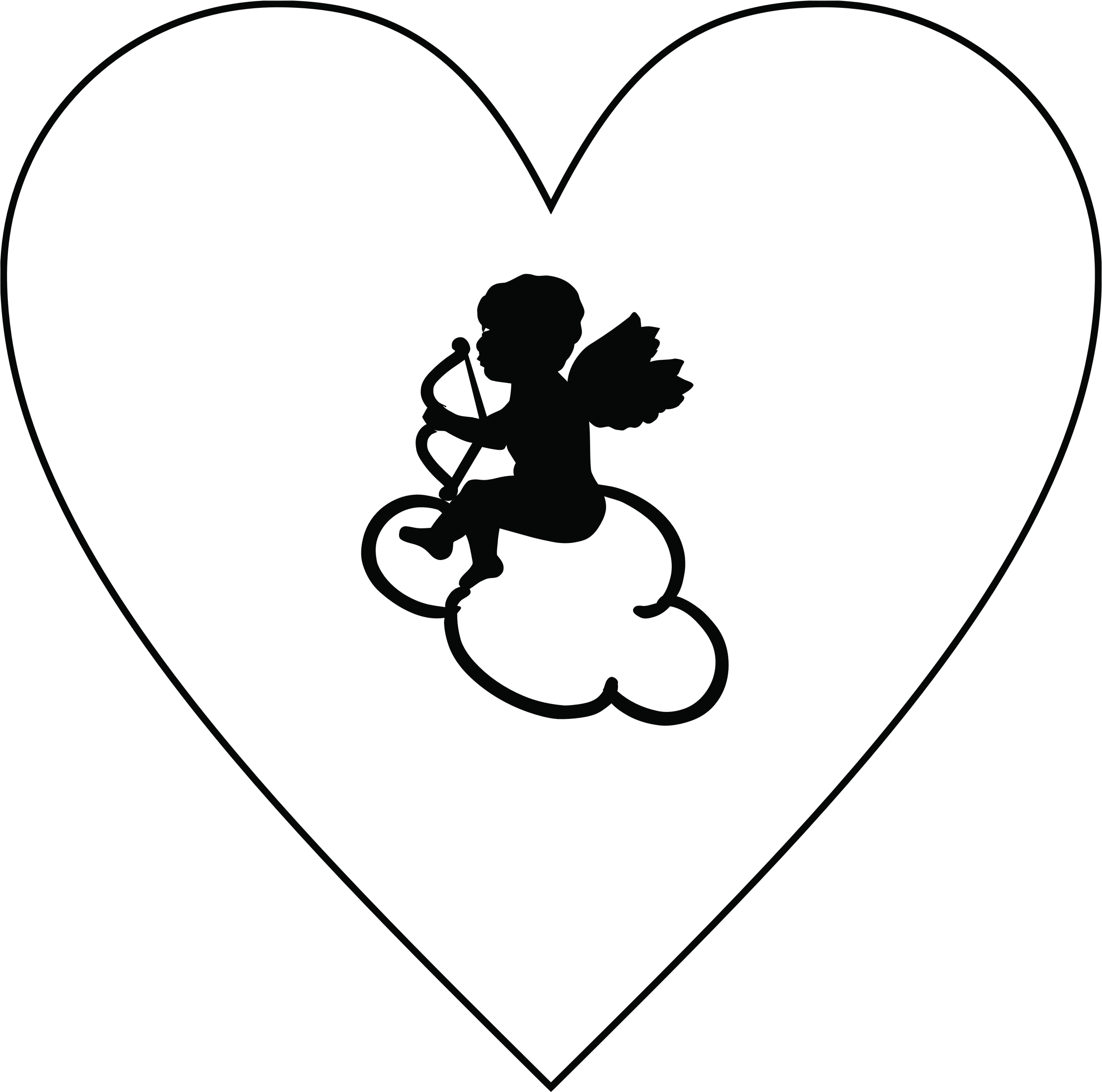 jpg library stock Cupid big image png. Cloud clipart heart.