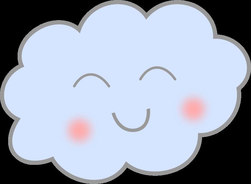 clip art transparent library Cloud clipart heart. Happy medium image png.