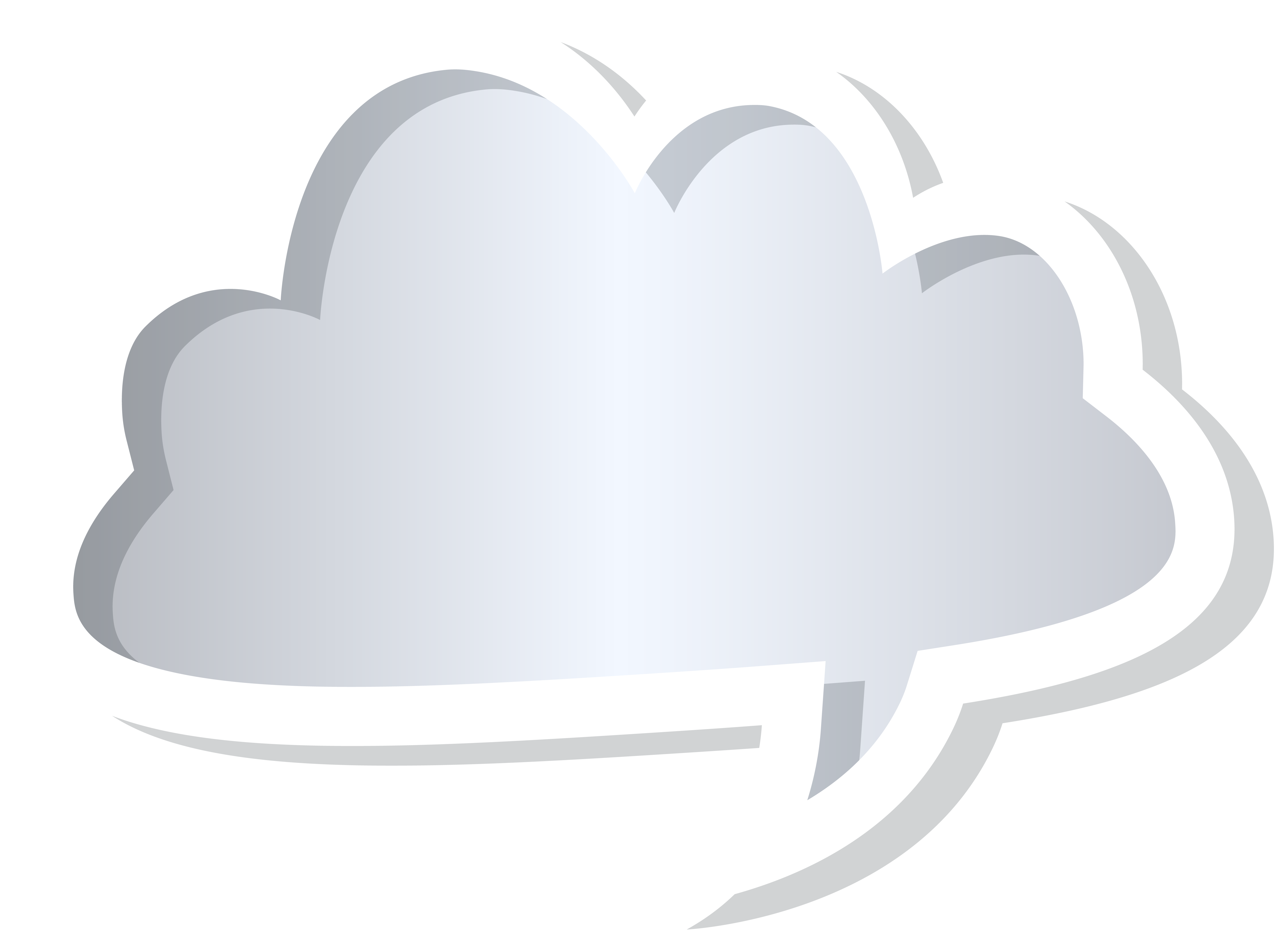 graphic free library Grey png clip art. Cloud clipart speech bubble.