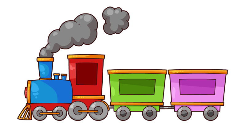 banner transparent stock Clouds clipart train. Clip art images free.