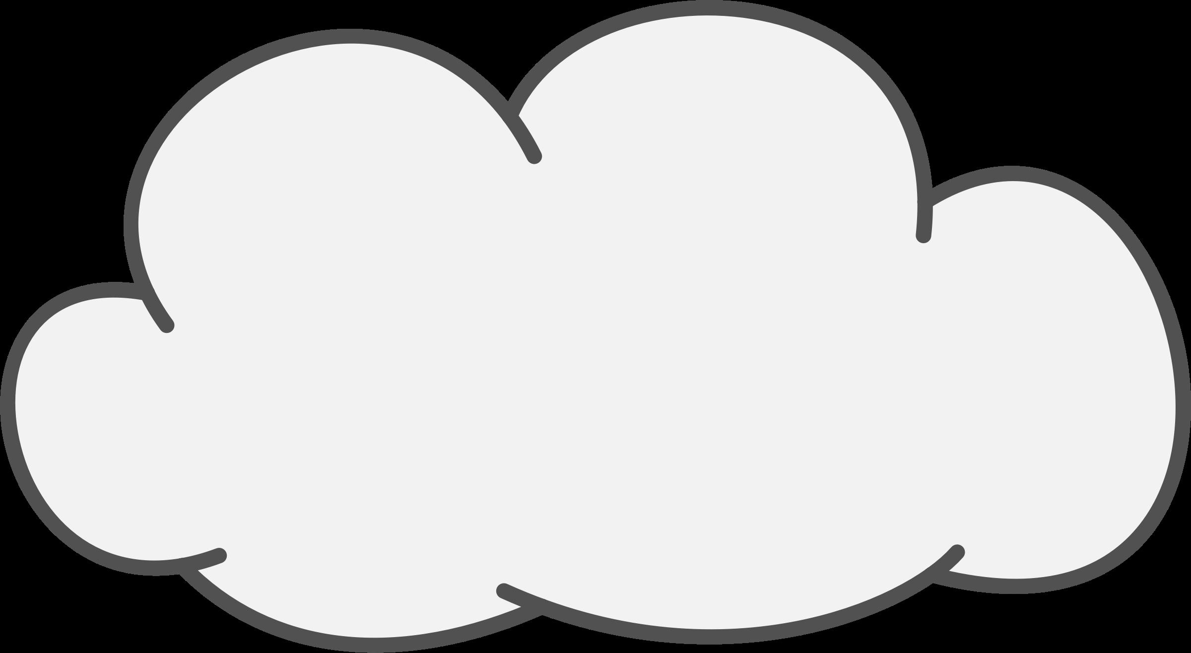 svg transparent library transparent clouds clipart #61375158