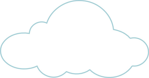 black and white stock Clouds Png