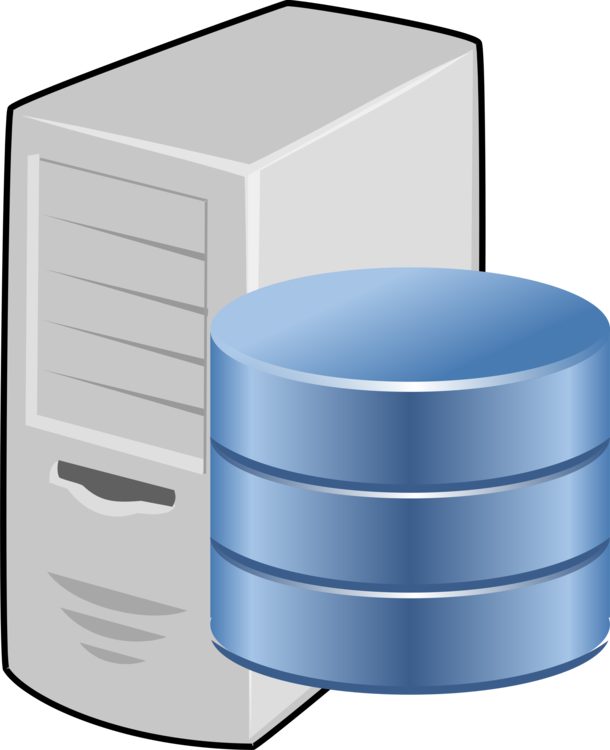 picture library Database computer servers icons. Web server clipart