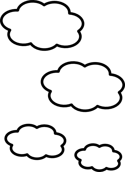 image royalty free download Clouds Clip Art at Clker