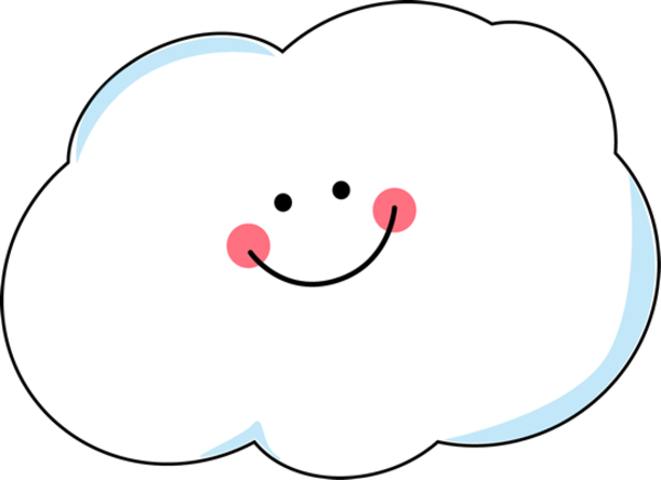 clip freeuse stock Clouds clipart. Clip art smiling cloud.