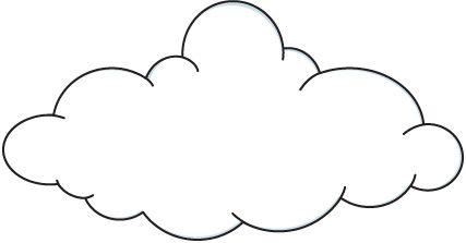 picture freeuse download Cloud clip art black. Clouds clipart