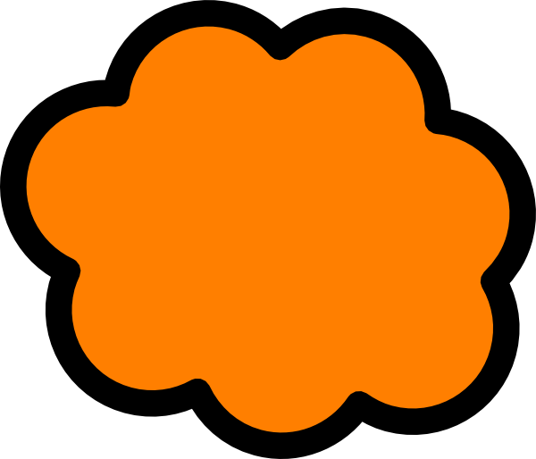 jpg royalty free stock Clouds clipart orange. Cloud clip art at.