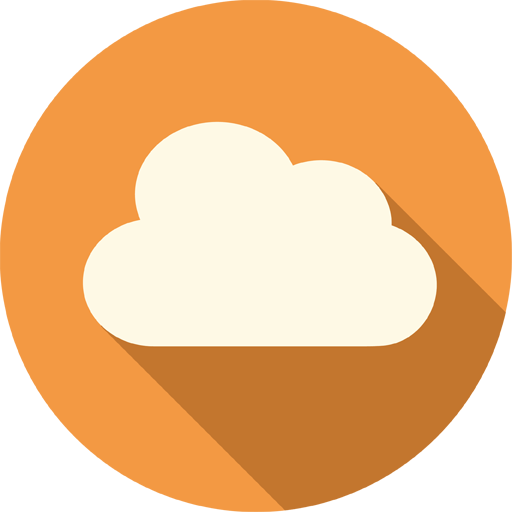 vector download Clouds clipart orange. Cloud icon png panda.
