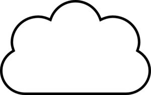 freeuse Clouds clipart simple. Cloud line drawing at.