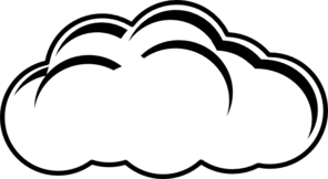 clip art library Clouds clipart simple. Cloud drawing at getdrawings.