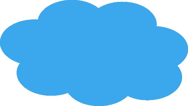 clipart free library Blue Cloud clip art