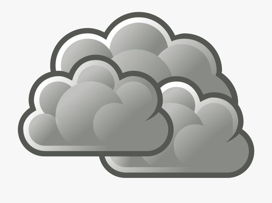 image library Cloudy clipart. Its storm transparent cartoon.