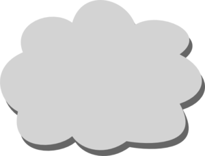 graphic download Gray cloud clip art. Cloudy clipart grey clouds.