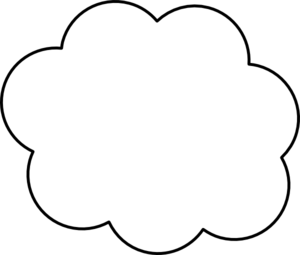 jpg freeuse download Cloud physic minimalistics co. Cloudy clipart outline.
