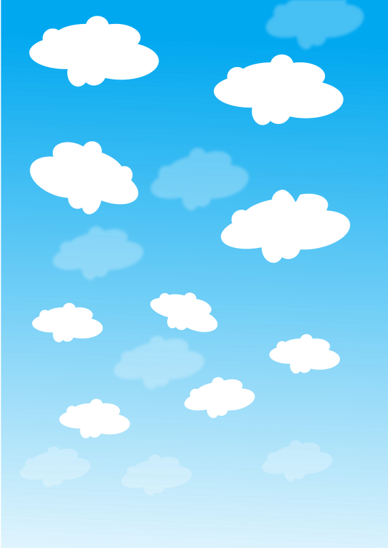 jpg transparent library Free sky with clouds PSD files