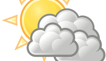 vector stock Cloudy clipart weather forecast. May th the critic.