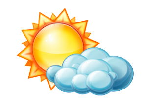 png royalty free stock Brush colorado monday may. Cloudy clipart weather forecast.