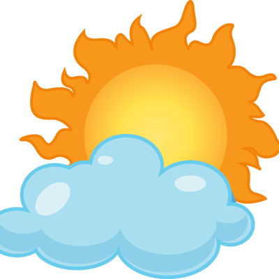 jpg free Sensational inspiration ideas partly. Cloudy clipart weather forecast.