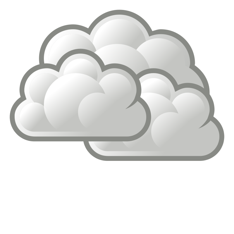 jpg library download Cloudy clipart. Its .