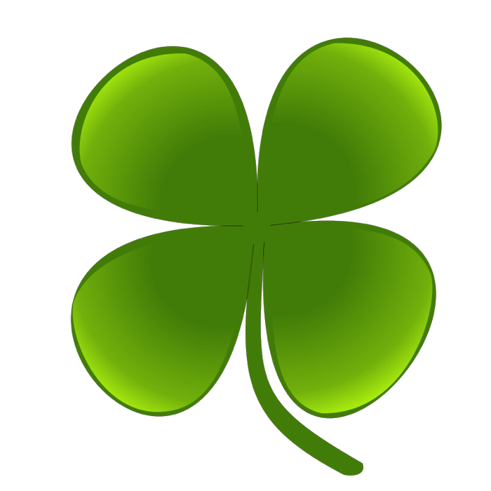 vector transparent Clover clipart. Of shamrocks and four.