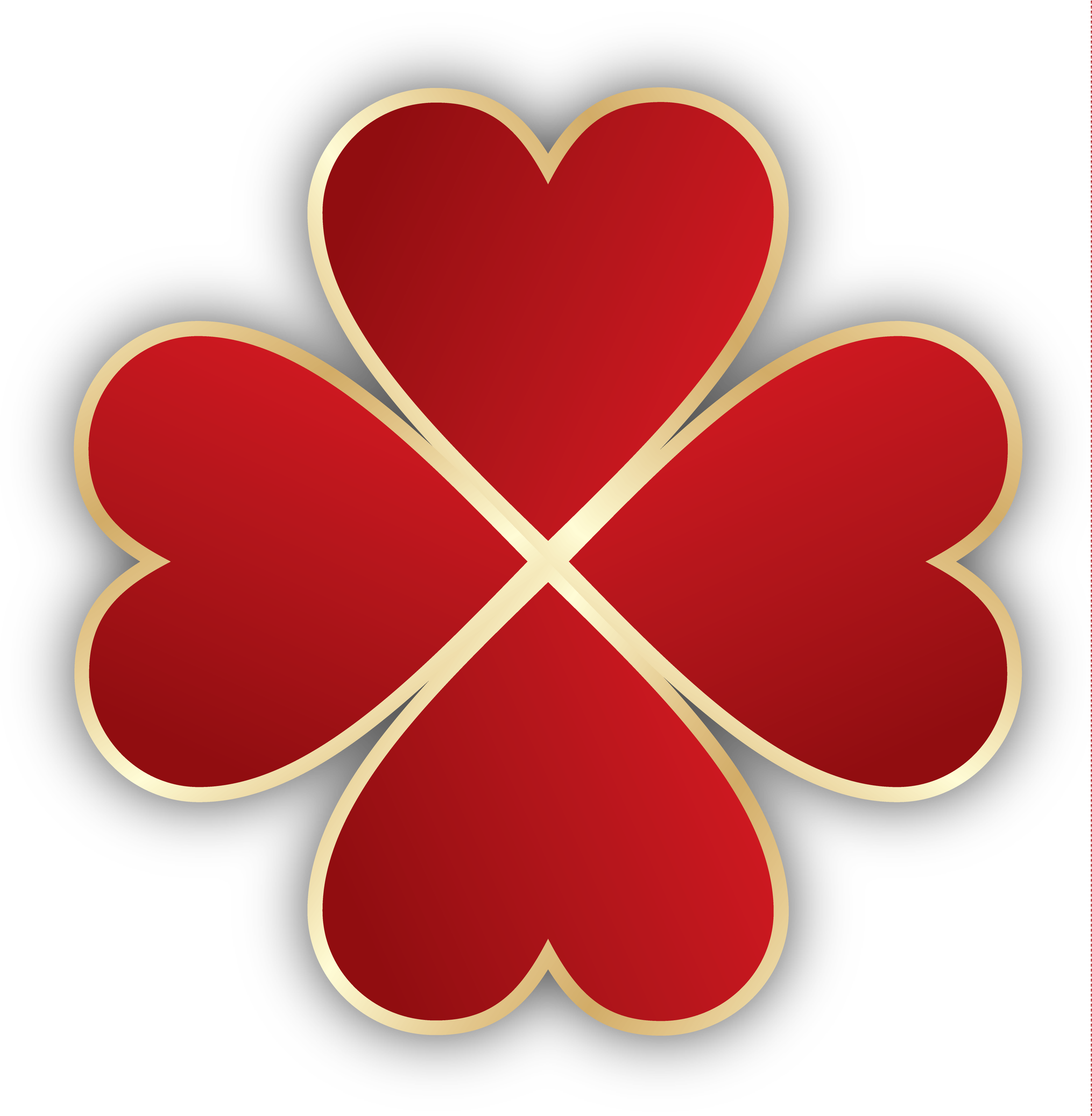 graphic library Clover clipart heart clover. Hearts png picture gallery.