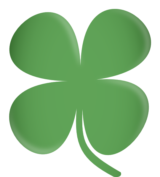 vector royalty free library Clover clipart heart clover. Large free on dumielauxepices.