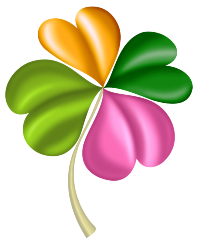 image download  st patrick clip. Clover clipart march flower.