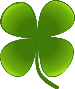 banner transparent library Shamrock For March Clip Art at Clker